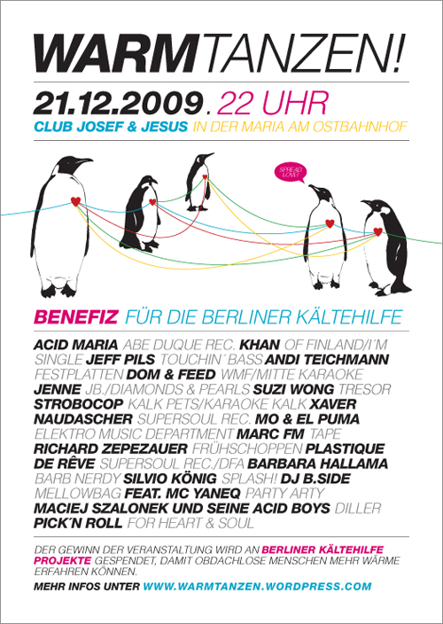 Warmtanzen Maria Flyer